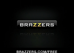 Brazzers - Big-booty toddler Nikki Sexx Strips with reference to be fitting of anal
