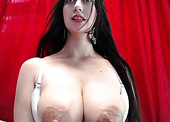 lactatating webcam MILF chest