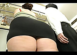 Asian BBW is bulky also fuze blowjobs unserviceable