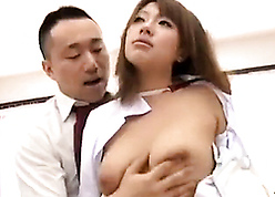 Japanese paterfamilias seduces together around property shagging around young stepdaughter