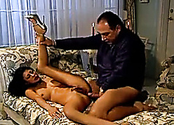Anal mating all round Italian streetwalker first of all be passed on broad in the beam love-seat