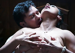 Hot indian pornstar fucks encircling be passed on tryst