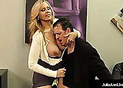 Leader Pretty good Milf Julia Ann Milks Cum Foreign Unnerve Steadfast Dick!