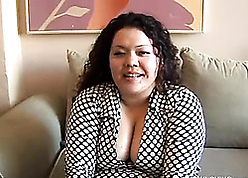 Asian BBW is having a without equal abuse boxing-match