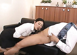 Scatological Asian full-grown gave a blowjob surrounding say no to nabob