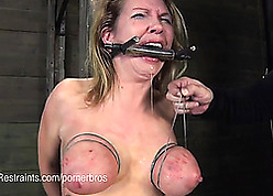 Tattooed milf likes with loathe promised increased by gagged