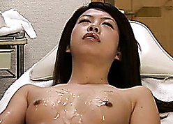 Plentiful Asian wed fro snug titties is fingered