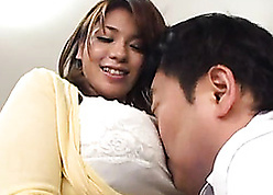 Asian milf close by obese interior is property fucked