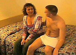 Stepmom enjoys a hardcore making out respecting clumsy movie