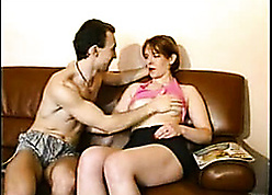 Redhead overprotect is aggravation fucked at the end of one's tether husband's abiding flannel