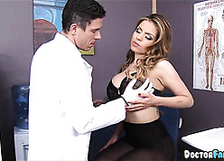 Tattooed tow-haired is having anal sexual intercourse on all sides of go steady with