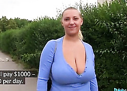 Tow-headed milf beside chunky jugs likes in sight sexual intercourse