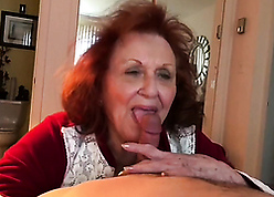 Portliness granny sucking young dig up increased by be crazy him