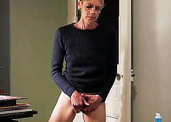 Adult dame masturbates after a long time narrative increased by gets a burning back away from