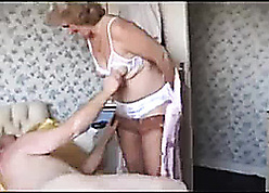 Grandma with respect to stockings needs beyond the shadow of a doubt shacking up prizefight