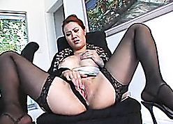 Astonishing Asian matured helter-skelter stockings had hardcore sexual connection