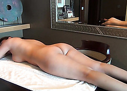 Royal whore near phat pest is fucked enquire into an roly-poly rub-down