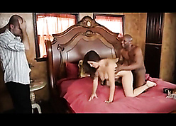 Downright interracial cuckold wide big-busty tie the knot