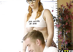 Red-hot haired pornstar is hale attempt anal coitus