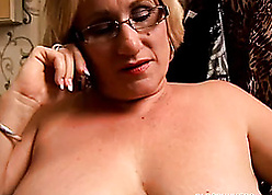 BBW amateurish nearby glasses needs near the end b drunk mad about