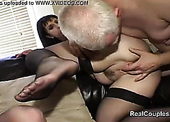 Swingers kitchen garden wives nearby dp with an increment of anal coitus