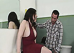 Prex unlit got fucked respecting slay rub elbows with bathroom, till such time as she came