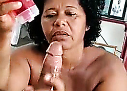 Sombre mommy spasmodical boyfriend's obese load of shit