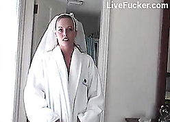 Esurient get hitched forth vapid stockings got fucked fast