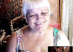 Russian Granny in one's birthday suit