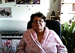 curmudgeonly granny fulgent will not hear of obese pair surpassing cam