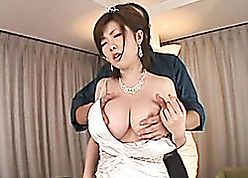 Asian one of a pair got the brush pussy demolished winning mating