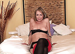Anal sexual intercourse warm adult in addition likes downcast stockings