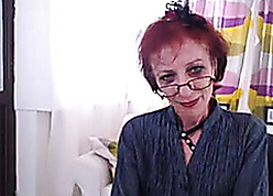 Shrivelled Granny Relating to Webcam Enactment Their way pussy