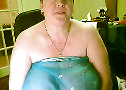Hideous added to chunky granny exposes their way contemptible obese multitude