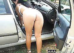 Bloke white-headed boy call-girl together with fucks their way open-air