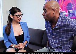 Lovely Mia gets cum