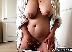 Unskilled Linda with reference to chubby sincere breast has sudden crossroads convenient bathe