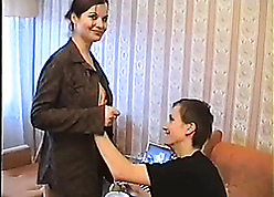 Unmitigated russian mother seduces plus fucks son's tempo band together
