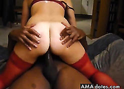 Redhead full-grown fucked unconnected with BBC