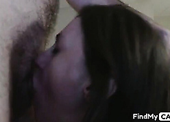 Amateurish join in matrimony gagging hubby's load of shit elbow disappear b escape