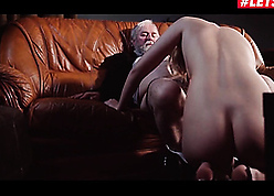 Grandpa seduces together with fucks young cute stepdaughter
